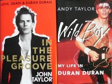 Duran Duran Book Report John Taylor Andy Taylor