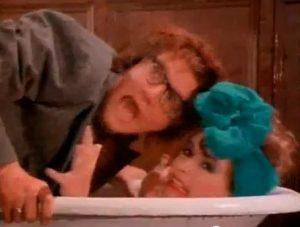 Arcadia Flame Simon in bathtub