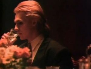 Arcadia Flame Nick Rhodes sips champagne