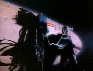 Arcadia Flame Simon is electrocuted