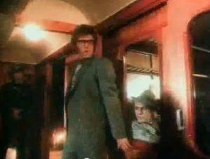 Arcadia Flame Simon and Nick on Train