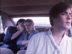 Careless Memories Duran Duran Simon Le Bon in car
