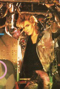 Duran Duran Arena Nick Rhodes Wild Boys costume