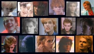 Duran Duran Girls On Film Nick Rhodes hairstyles