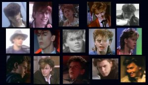Duran Duran Girls On Film John Taylor hairstyles