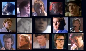 Duran Duran Girls On Film Simon Le Bon hairstyles