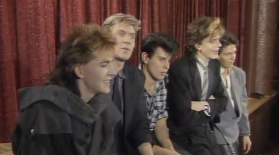 Duran Duran Sing Blue Silver press conference