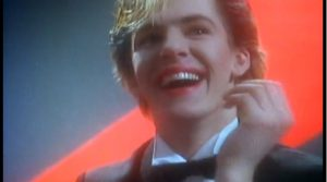 My Own Way Duran Duran Nick Rhodes delighted smile