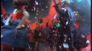 My Own Way Duran Duran confetti celebration