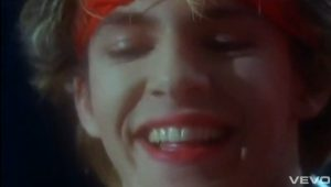 My Own Way Duran Duran Nick Rhodes smiles