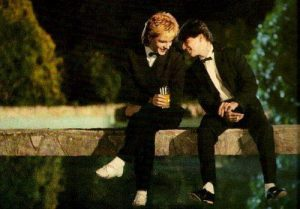Nick Rhodes and Andy Taylor