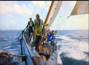 Rio Duran Duran the band sings on yacht