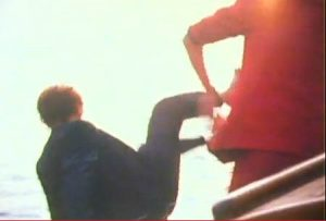 Rio Duran Duran John throws Andy overboard