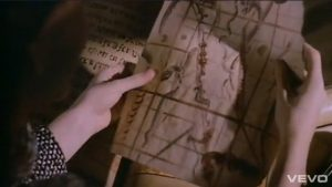 Duran Duran video Union of the Snake map