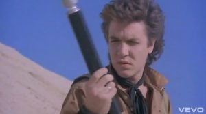 Duran Duran video Union of the Snake Simon and scepter