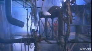 Duran Duran video Union of the Snake scaffolding