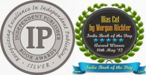 Bias Cut is the Winner of an IPPY Silver Medal