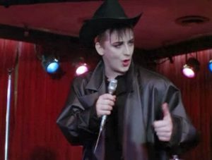 A Team Cowboy George Boy George performs