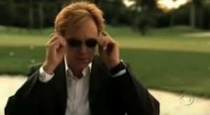 David Caruso CSI Miami sunglasses