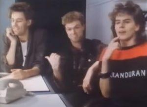 Duran Duran Band Aid Gary Kemp and John Taylor
