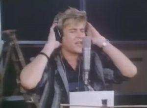 Duran Duran Band Aid Simon Le Bon recording