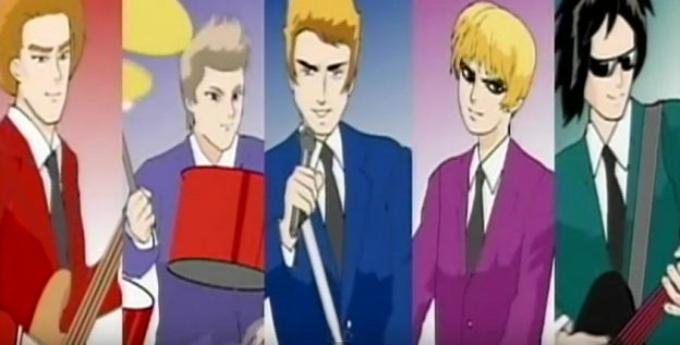 Duran Duran Careless Memories anime