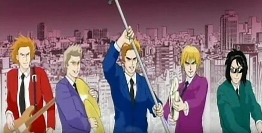 Duran Duran Careless Memories anime Durans attack