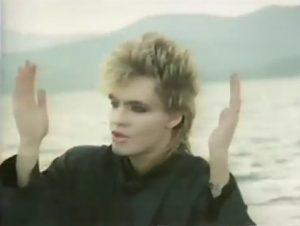 Duran Duran Kulture Shock Nick Rhodes gestures