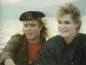 Duran Duran Kulture Shock Nick Rhodes looks at camera