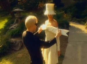 Duran Duran Ordinary World Nick and bridal gown