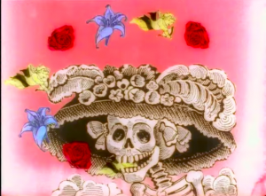 Duran Duran Perfect Day Day of the Dead art