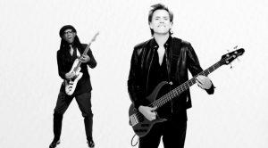 Duran Duran Pressure Off John Taylor smiles