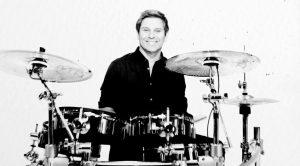 Duran Duran Pressure Off Roger Taylor smiles