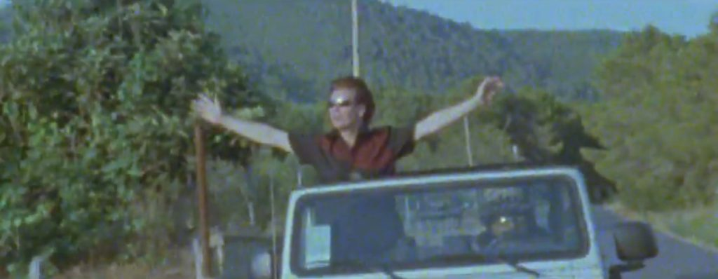 Duran Duran Reach Up Sunrise Andy in Ibiza