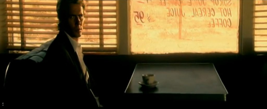 Duran Duran Reach Up Sunrise John in a cafe