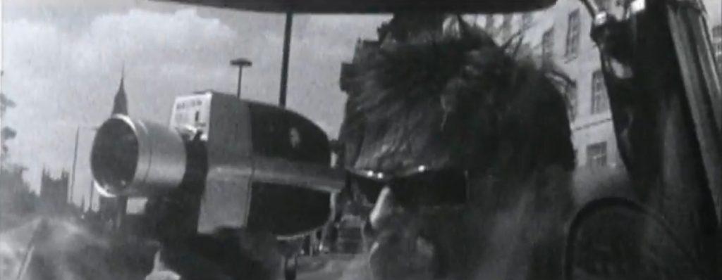 Duran Duran Reach Up Sunrise Roger driving while filming