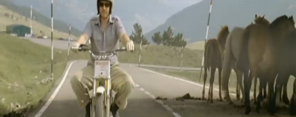 Duran Duran Reach Up Sunrise Simon Motorcycle horses