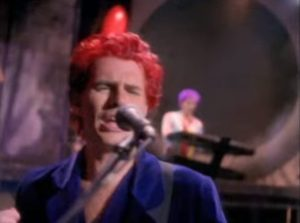 Duran Duran Too Much Information John Taylor cherry red hair