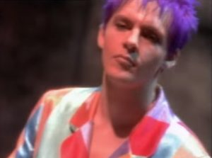 Duran Duran Too Much Information Nick Rhodes lilac hair