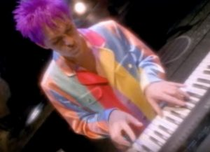 Duran Duran Too Much Information Nick Rhodes pastel jacket