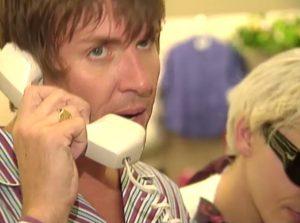 Duran Duran on MTV House of Style Simon orders bras
