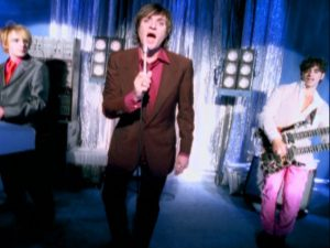 Electric Barbarella Duran Duran band performs