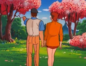 GI Joe Gamemaster Flint and Lady Jaye