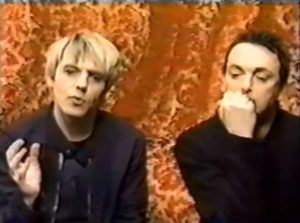 Nick Rhodes and Stephen Duffy as The Devils EPK