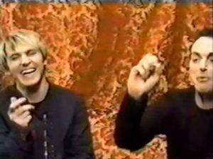 Nick Rhodes and Stephen Duffy as The Devils Laughter