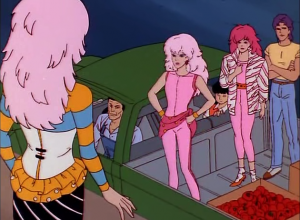 Jem confronts the Fake Jem