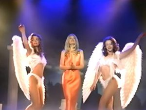 Vegas City of Dreams performance with angels