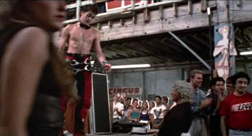 Tuff Turf Jimmy with bondage pants and handcuffs