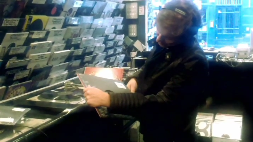Roger Taylor buys records