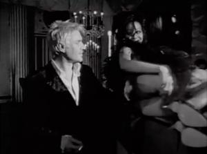 Simon Le Bon ogles a woman
